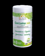 Be-Life Curcuma 2400 + Piperine BIO 90 organic capsules