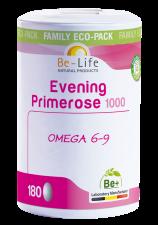 Be-Life Evening Primrose 1000 BIO 180 capsules VOORDEELVERPAKKING